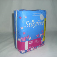 Stayfree Sanitary Pads - Super With Wings 18's