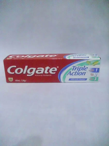 Colgate Toothpaste - Triple Action