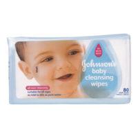 J & J Baby Wipes 80's