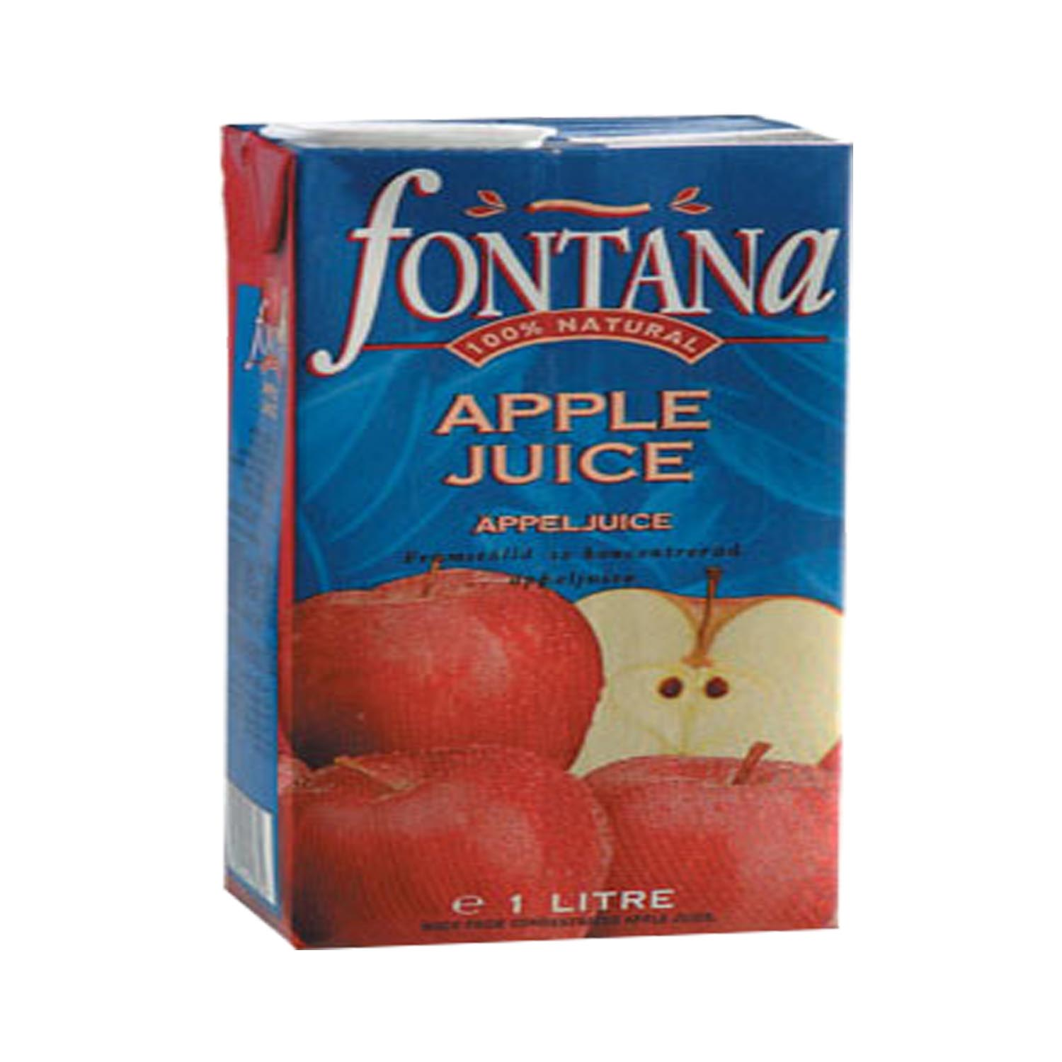 FONTANA 100% Natural Fruit Juice - Apple