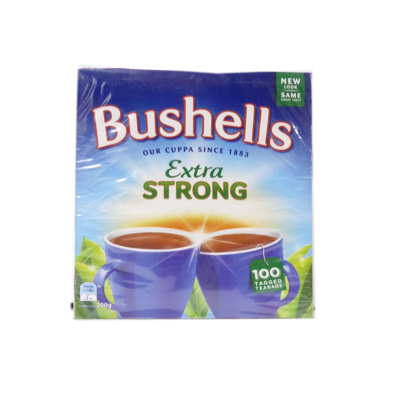 Bushells Tea Bags 100s