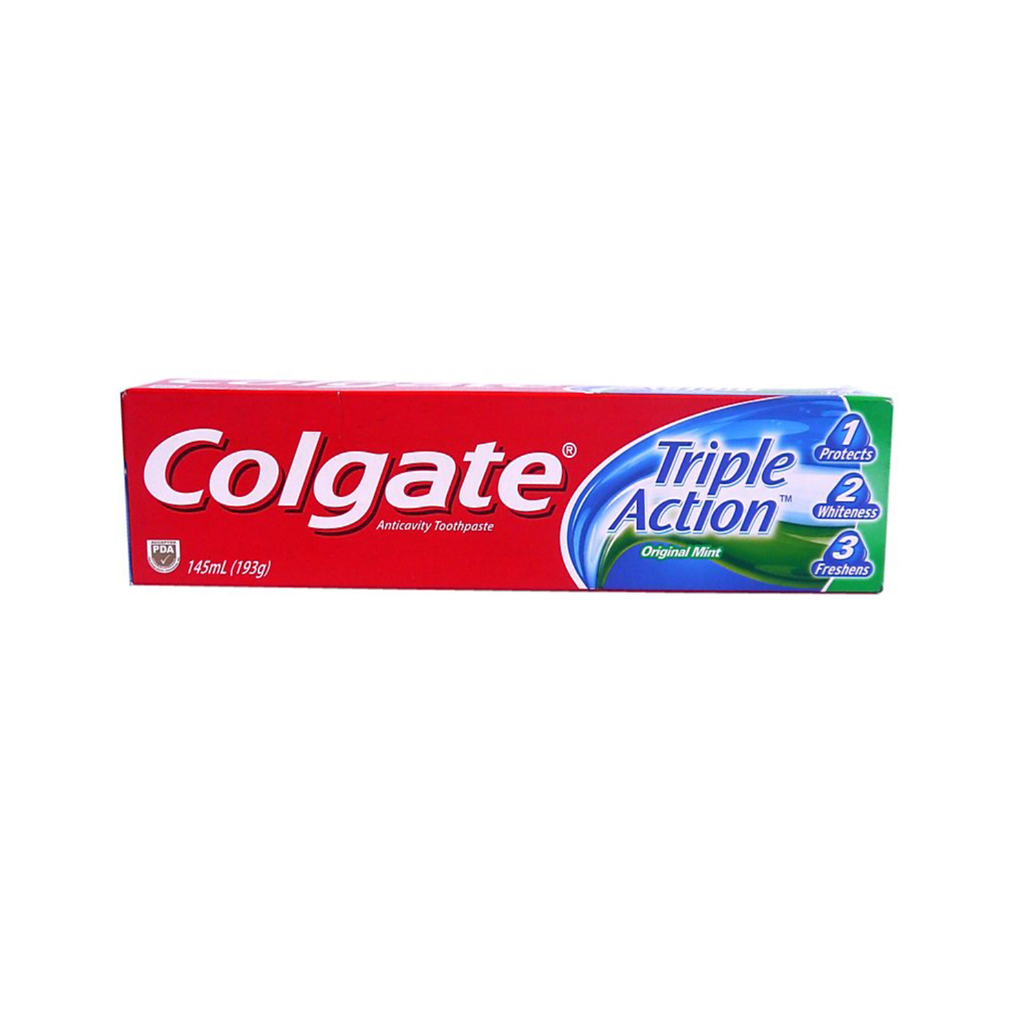 Colgate Toothpaste - Triple Action 145ml