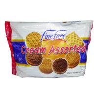 Finefare Cream Assorted Biscuit 500g