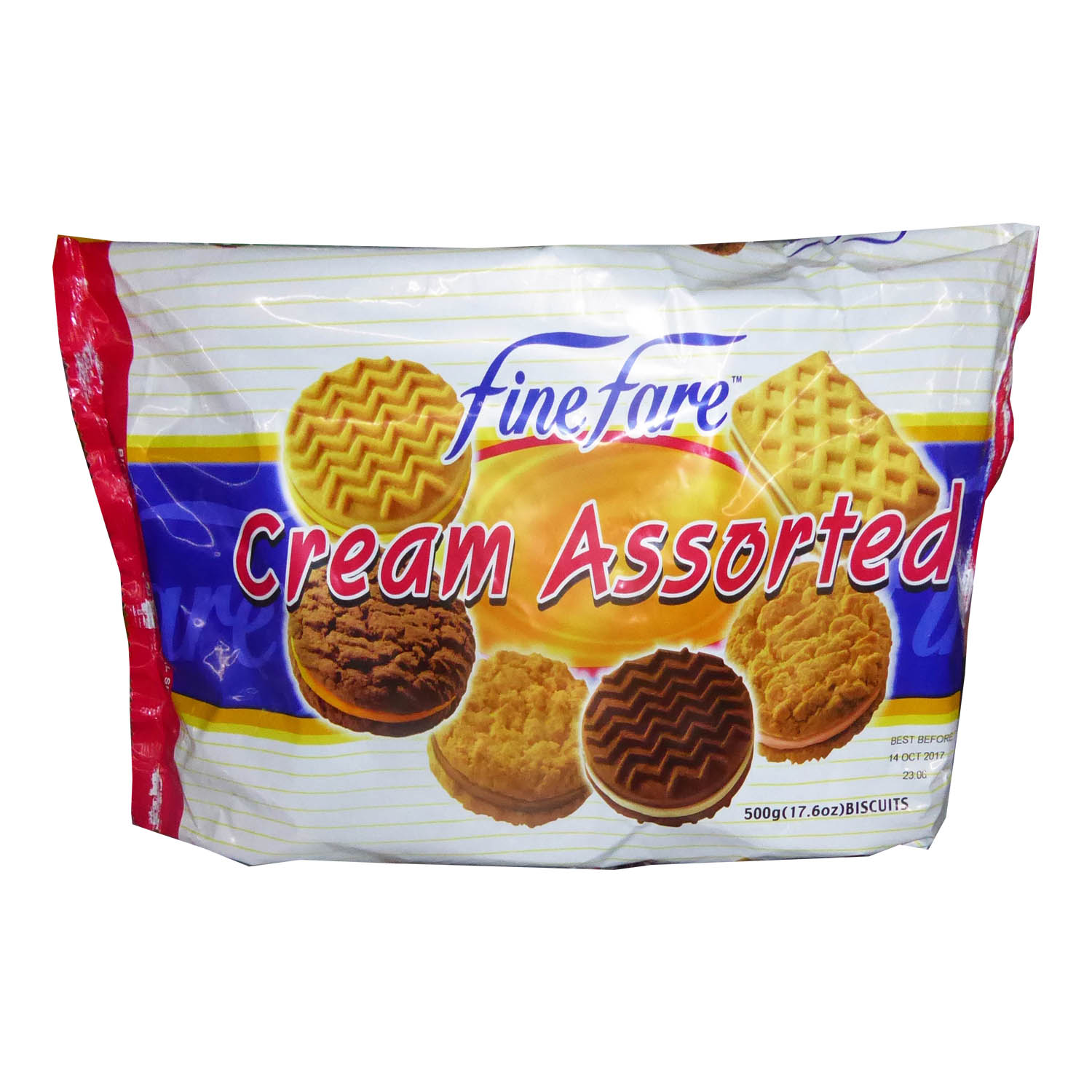 Finefare Cream Assorted Biscuit 500g