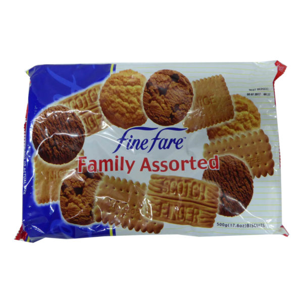 Finefare Family Assorted Biscuit 500g