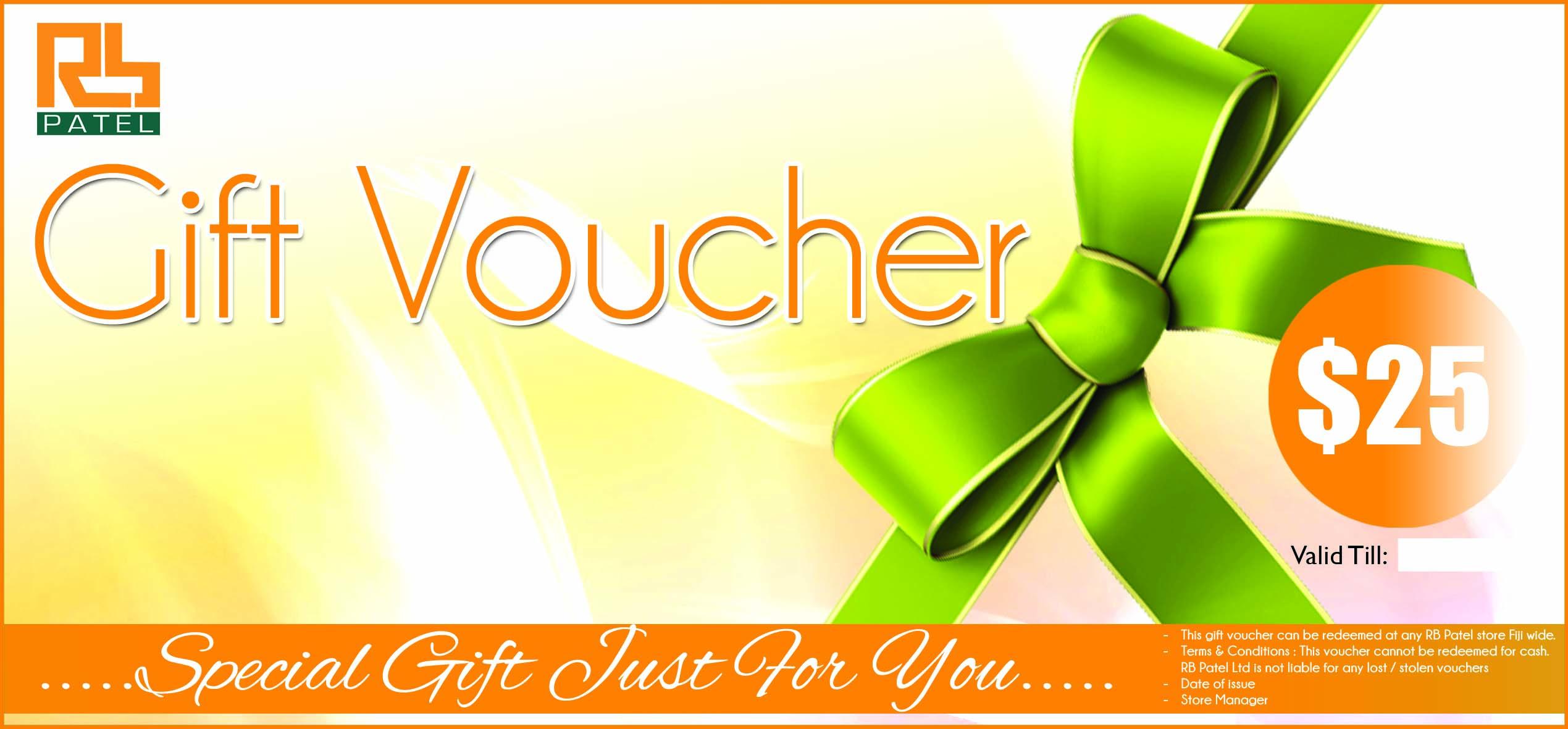 Gift Voucher $25