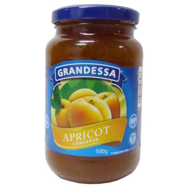 Grandessa Real Fruit Jam - Apricot 500g