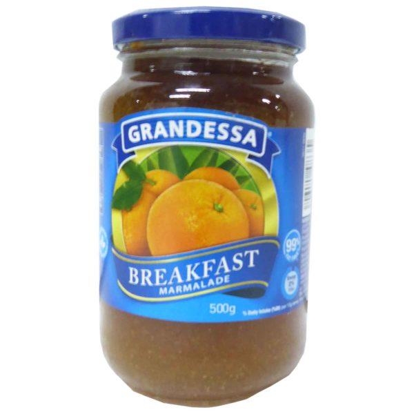 Grandessa Real Fruit Jam - Marmalade 500g