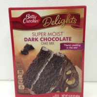 Betty Crocker Cake Mix - Dark Chocolate 432g