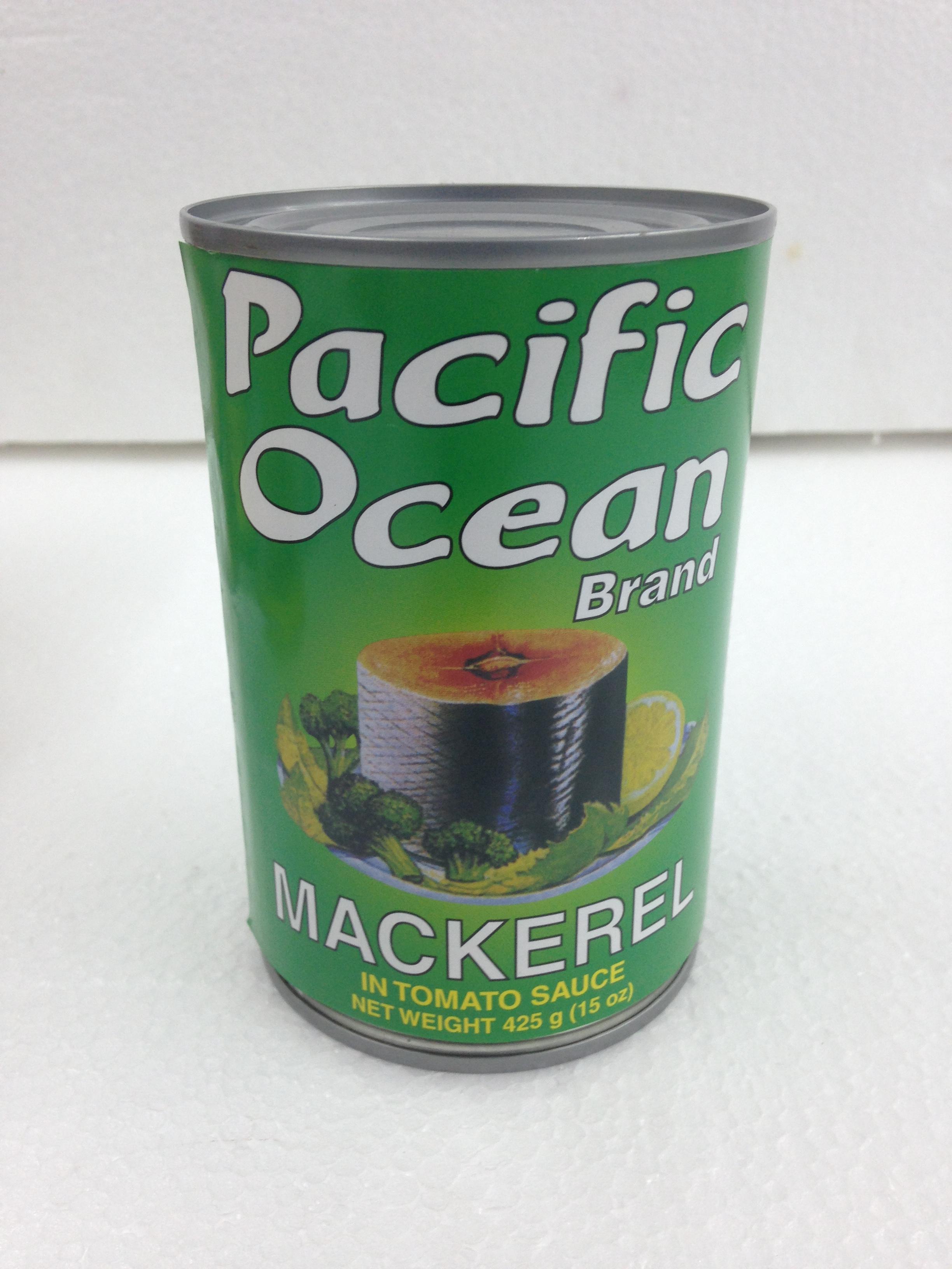 Pacific Ocean Mackerel T/Sauce