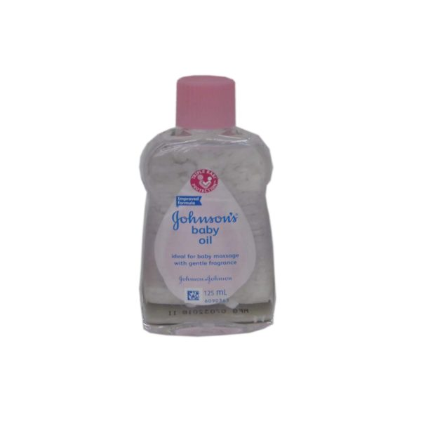 J&J Baby Oil 125ml