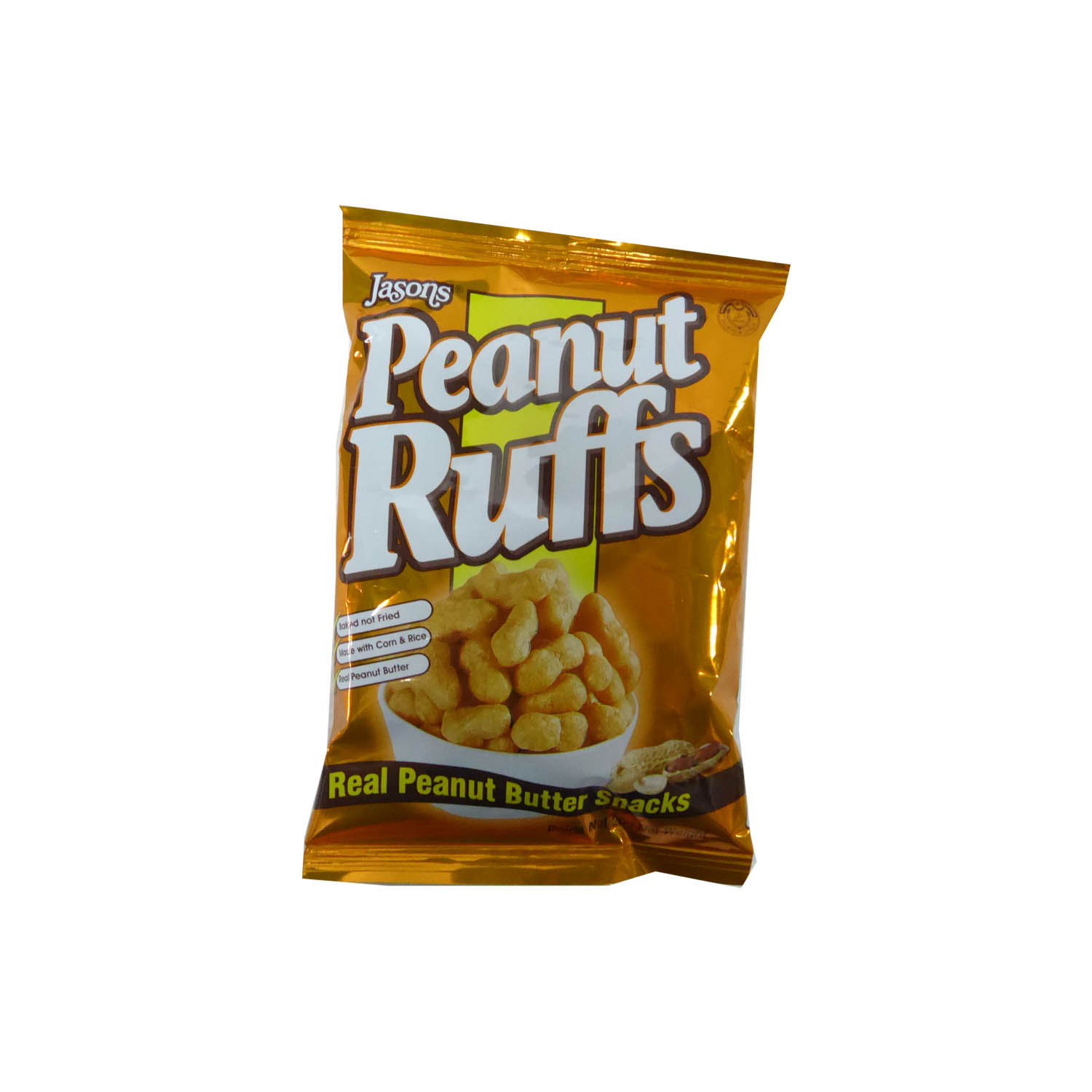 Jasons Peanut Ruffs 20g