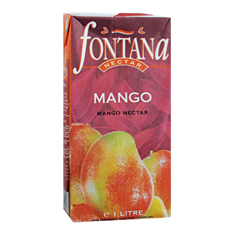 FONTANA 100% Natural Fruit Juice- Mango