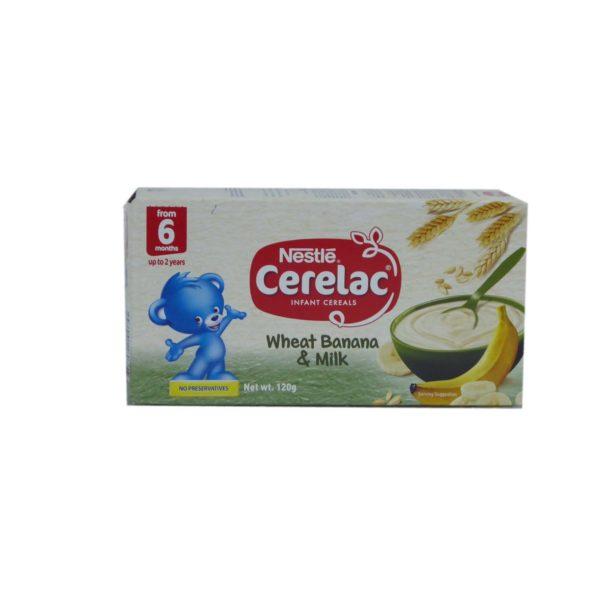 Nestle Cerelac - Wheat, Banana & Milk120g
