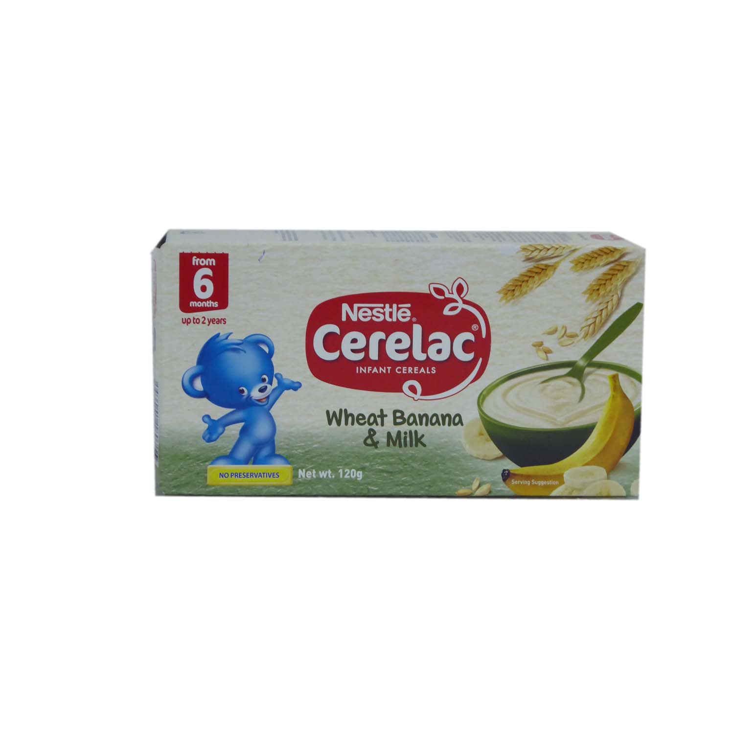 Nestle Cerelac - Wheat, Banana & Milk