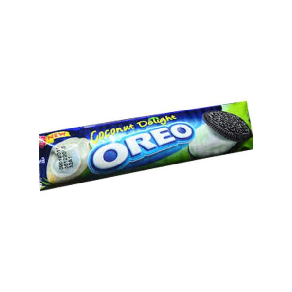 Oreo Cream Biscuits - Coconut Delight 137g