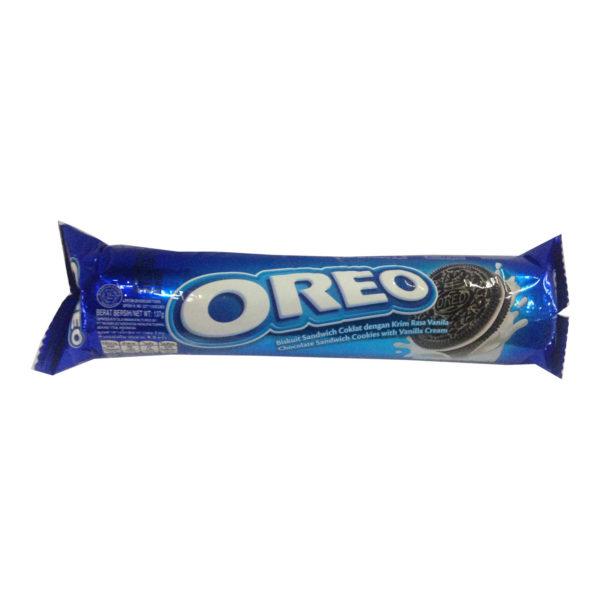 Oreo Cream Biscuits - Vanilla 137g