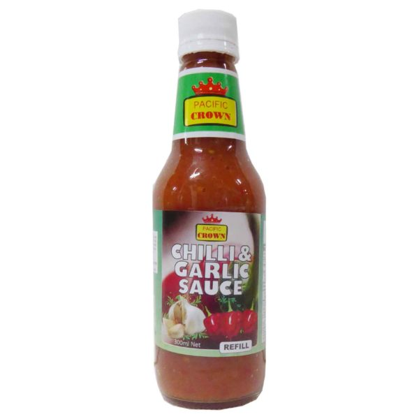 Pacific Crown Chilli & Garlic Sauce 300ml
