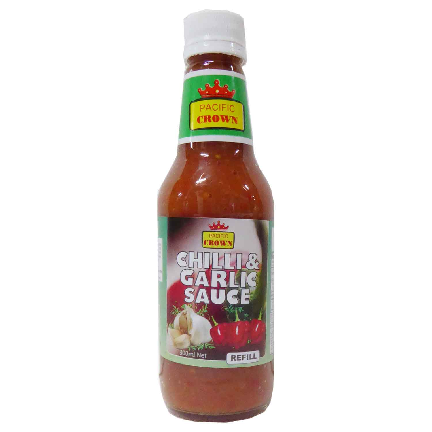Pacific Crown Chilli & Garlic Sauce 300ml