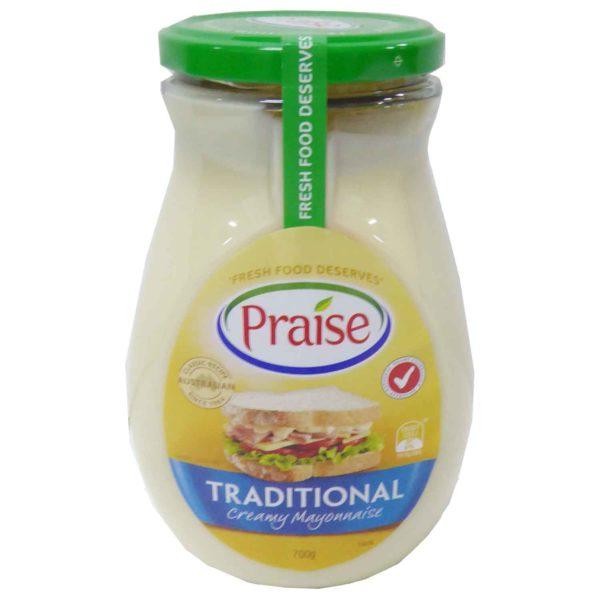 Praise Mayonnaise 700g