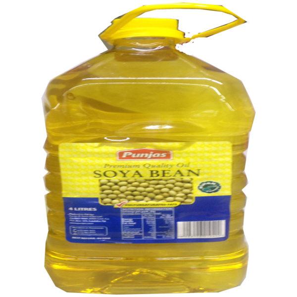 Punjas Soyabean Oil 4ltrs