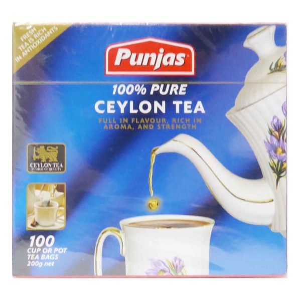 Punjas Ceylon Tea Bags 100s
