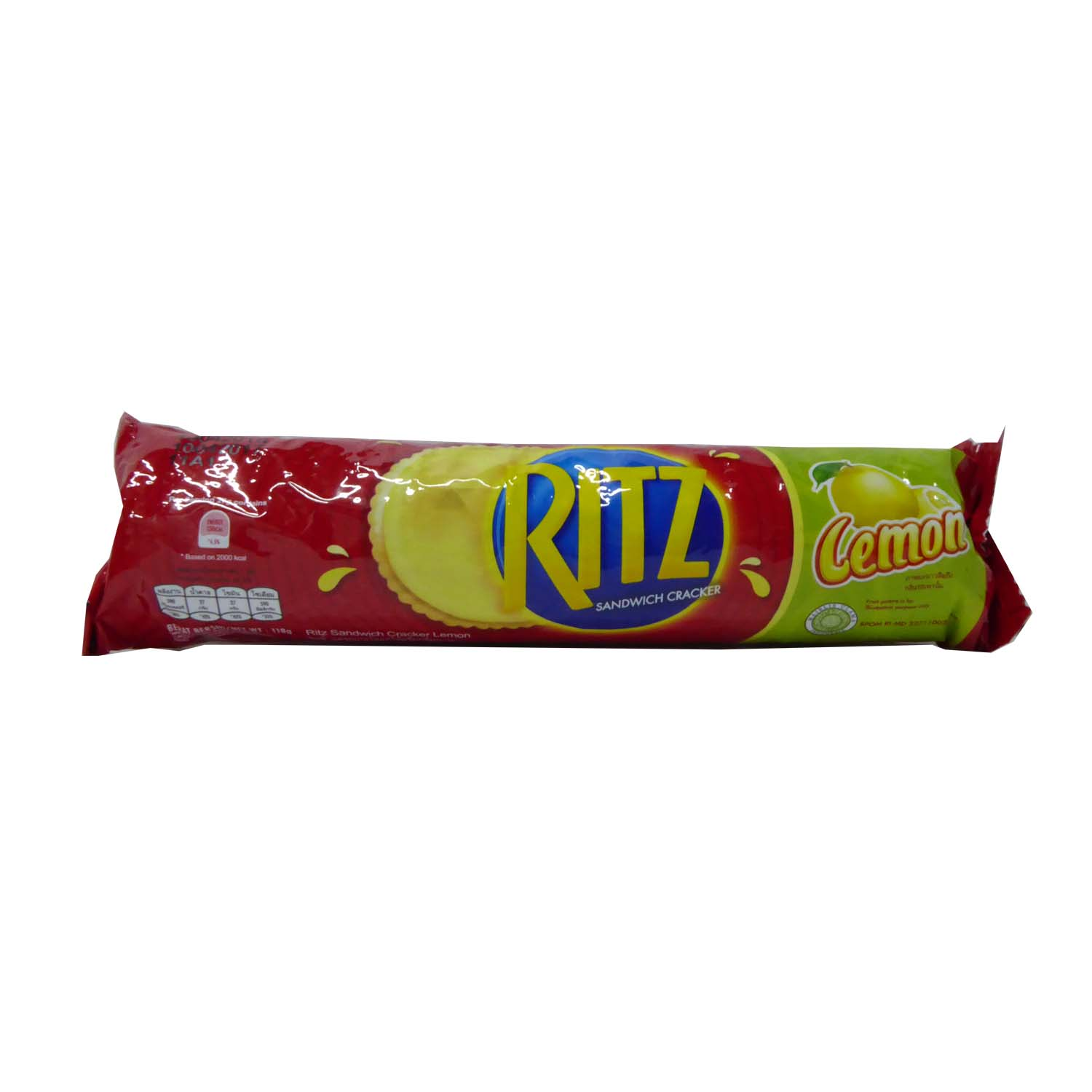 Ritz Crackers - Lemon 118g