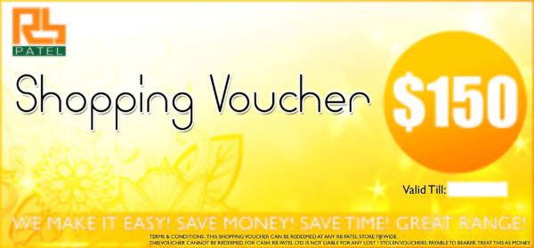 Shopping Voucher $150
