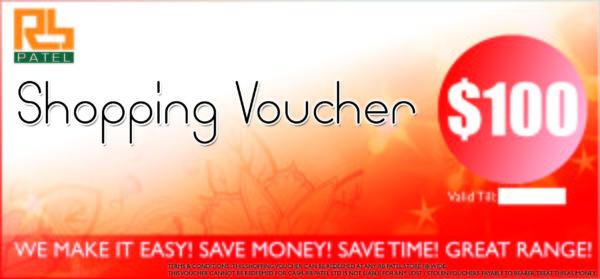 Shopping Voucher $100