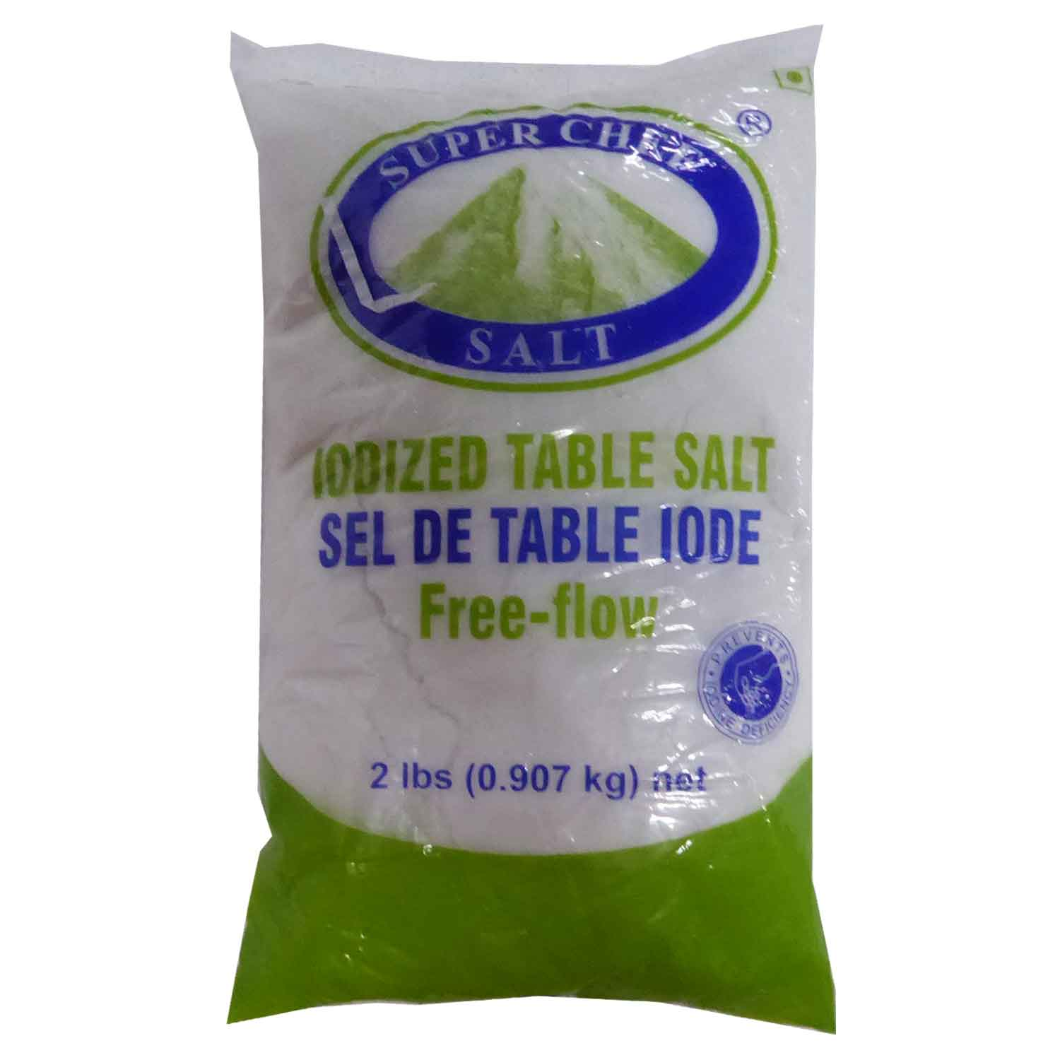 Super Chef Iodised Salt 907g