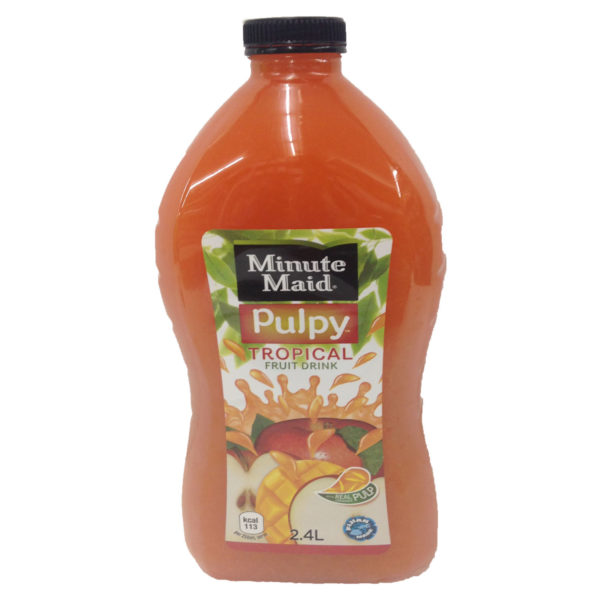 Minute Maid Pulpy Tropical 2.4ltrs