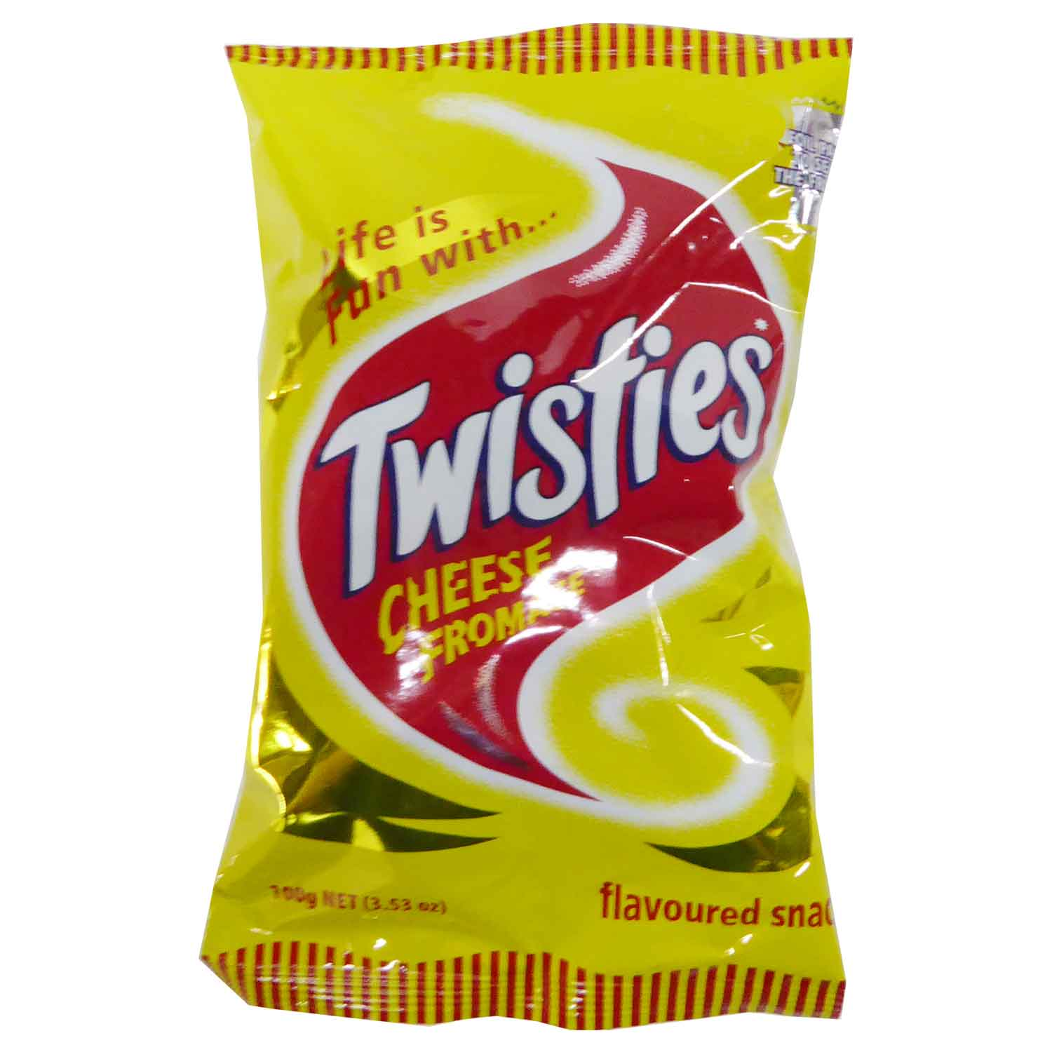 Twisties Snacks - Cheese 100g
