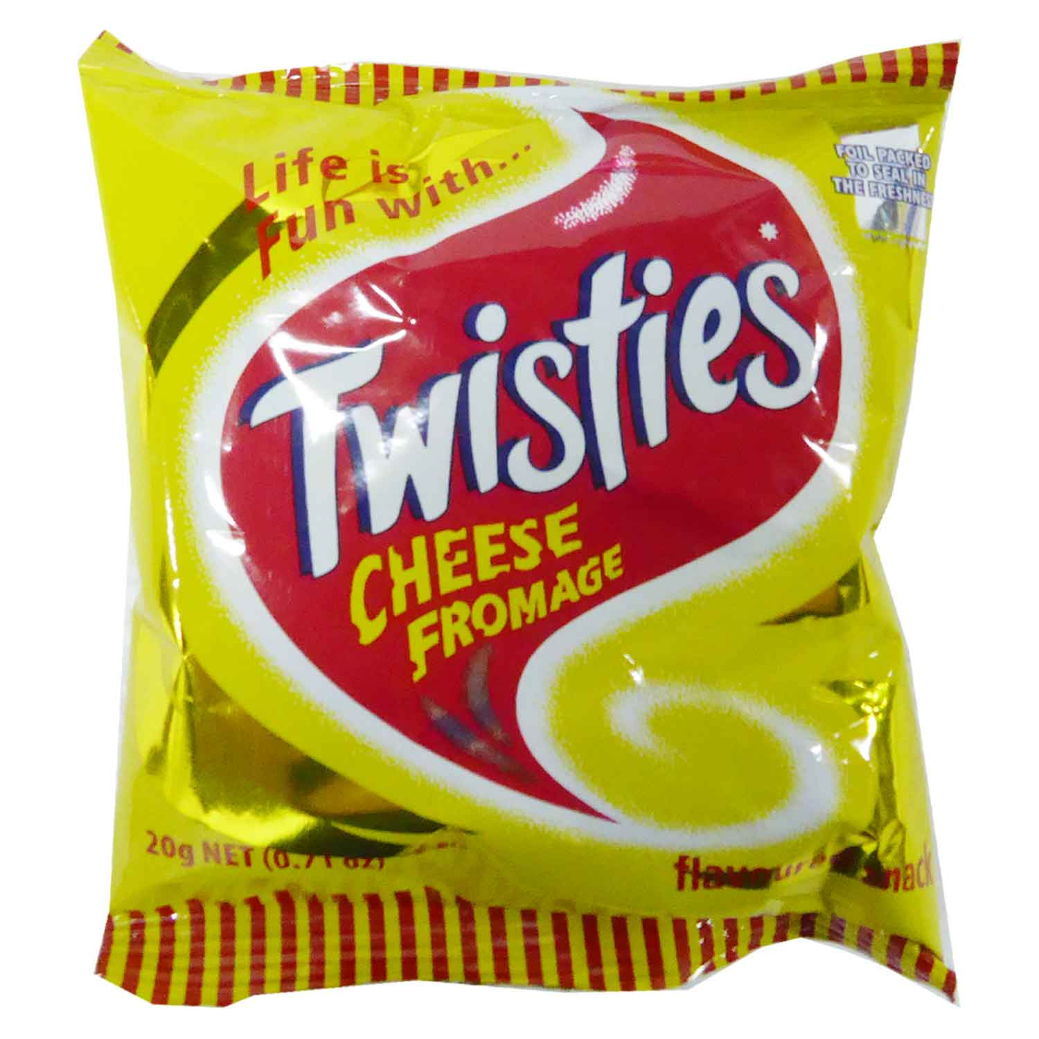 Twisties Snacks - Cheese 20g