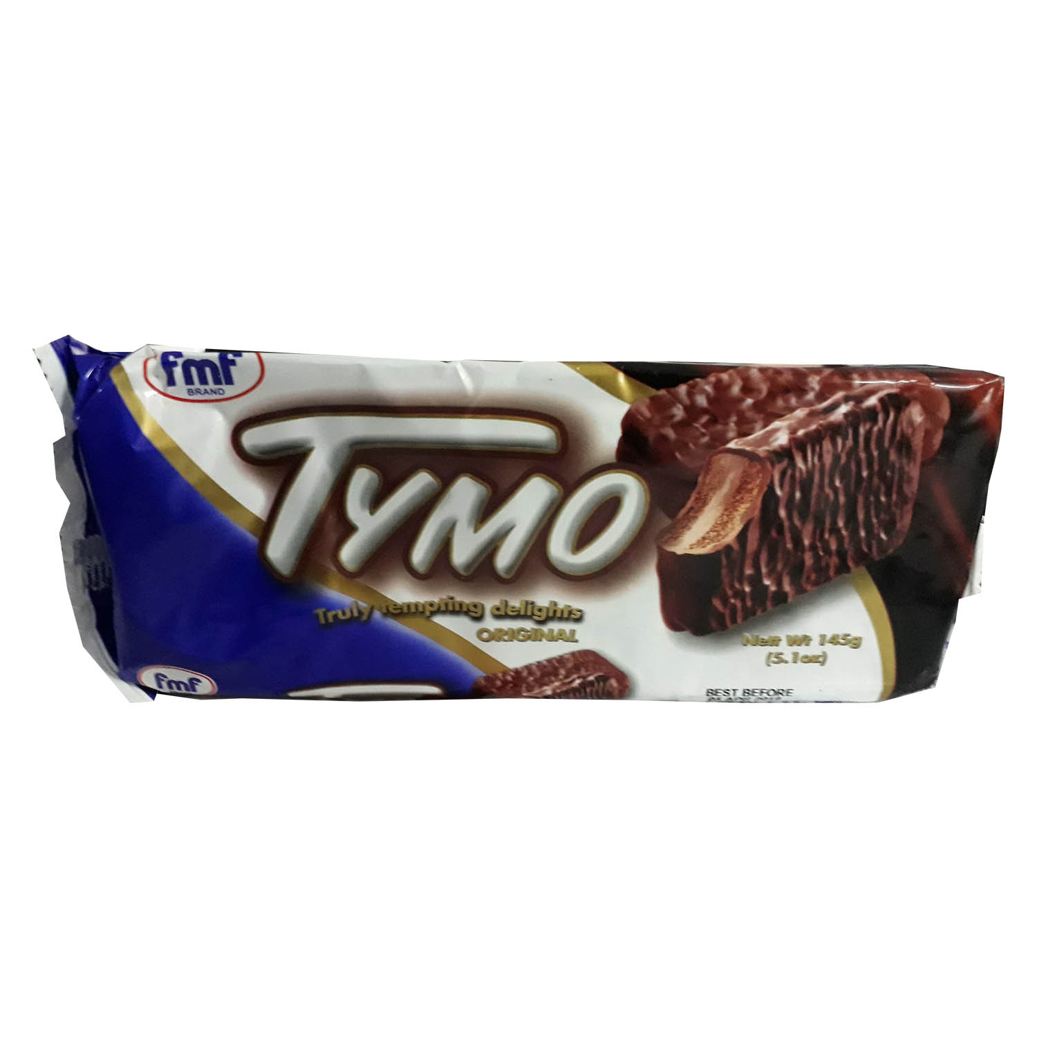 FMF Tymo Chocolate Coated Biscuit - Original 145g