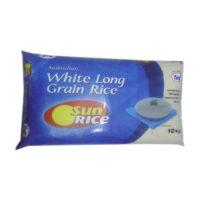 FMF Australian White L/G Sunrice Rice 10kg