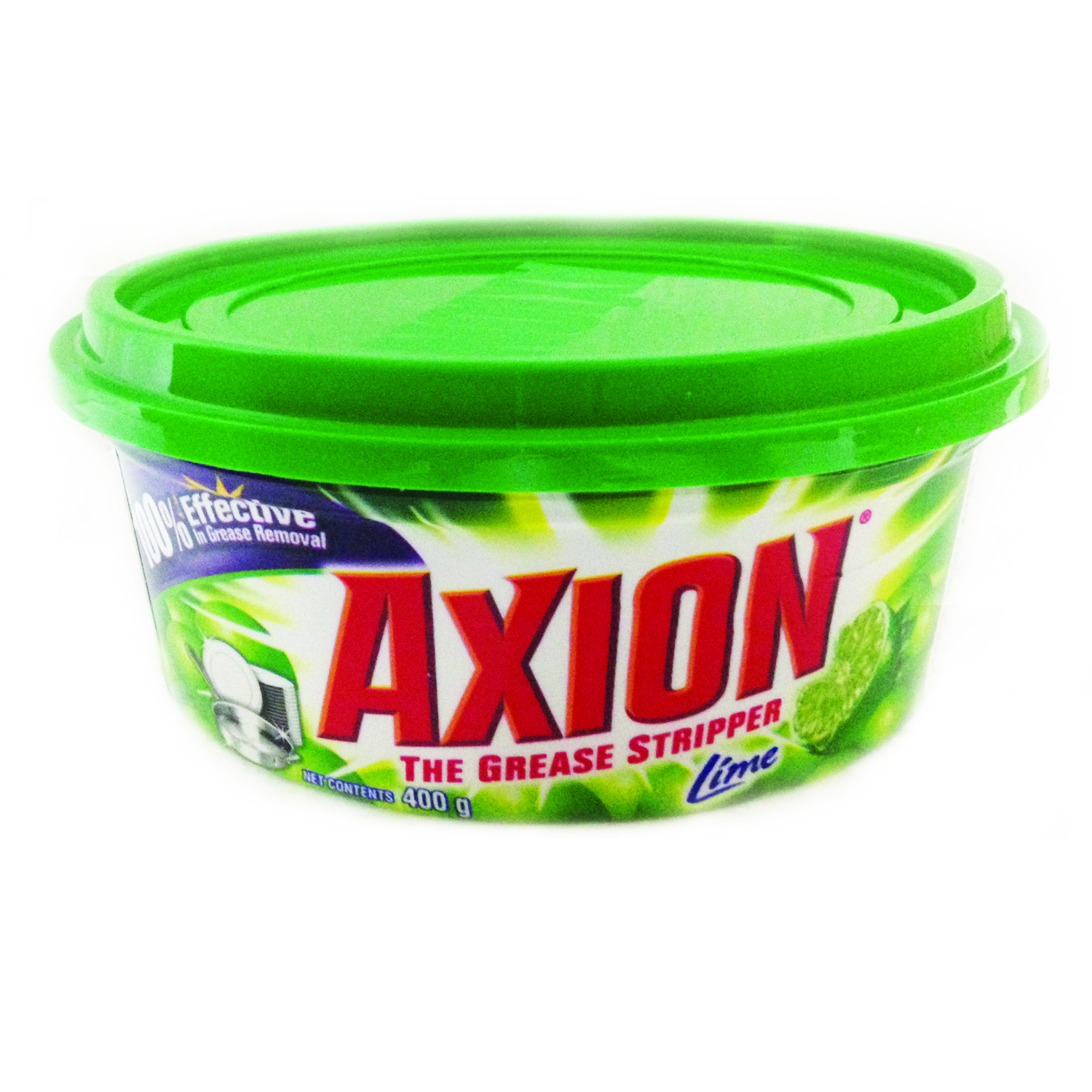 Axion Dishwashing Paste - Lime 400g