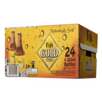 Fiji Gold Beer Stubby Ctn 24x355ml