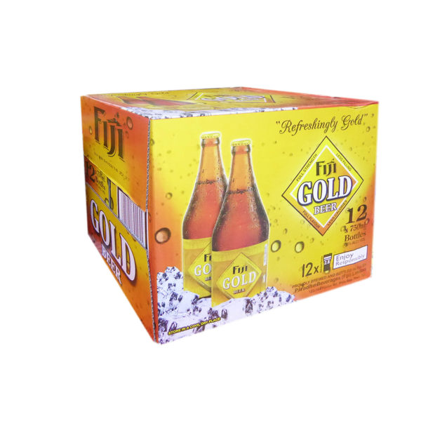 Fiji Gold Beer Ctn 12x750ml