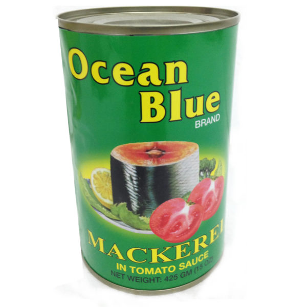 Ocean Blue Mackerel T/Sauce 425g