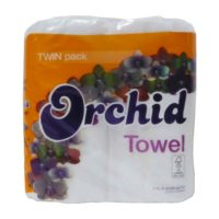 Orchid Kitchen Towel Twin Pack