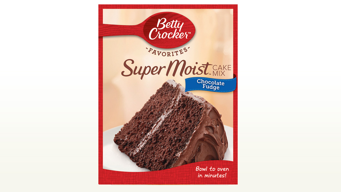 Betty Crocker Cake Mix - Chocolate Fudge 432g
