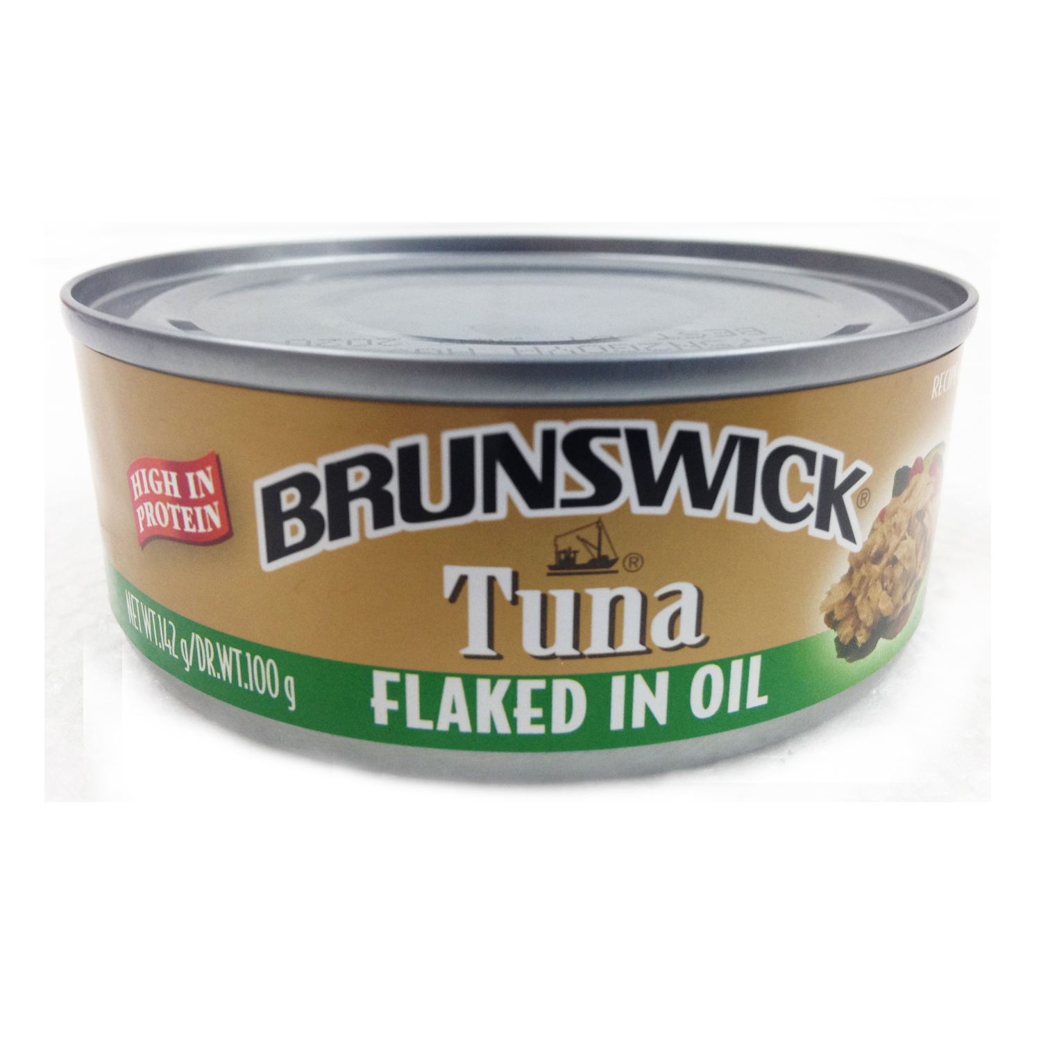Brunswick Tuna Flakes In Veg/Oil 142g