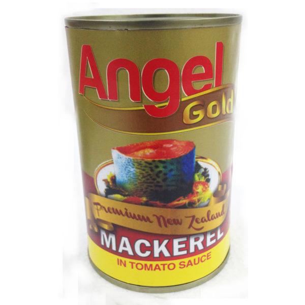 Angel Gold Mackerel T/Sauce 425g