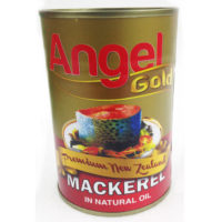 Angel Gold Mackerel N/Oil 425g