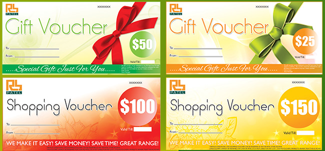 Best way to send money to Fiji. Shop RB Patel Gift & Shopping Vouchers.