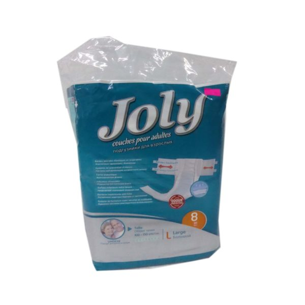Jolly Adult Diapers - Large 8's