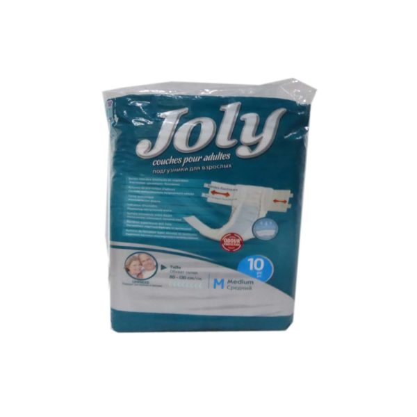 Jolly Adult Diapers - Medium 10s