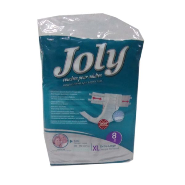 Jolly Adult Diapers - XLarge 8s