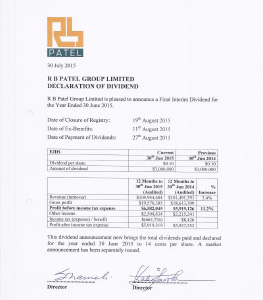 RBG-Dividend-Declaration-Jul-2015