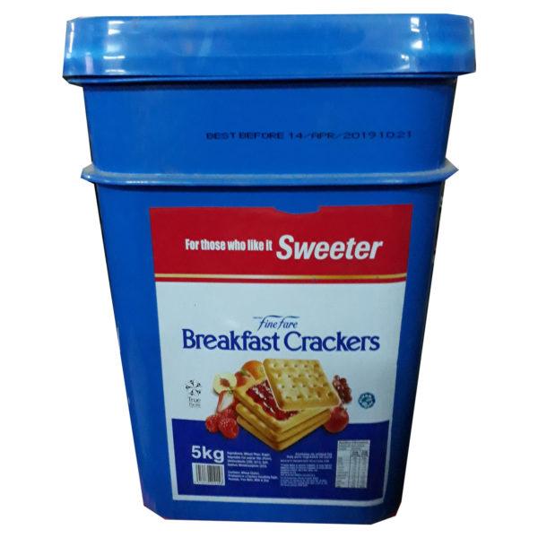 Fine Fare Breakfast Crackers 5kg